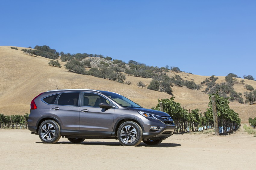 2015 Honda CR-V facelift – 2.4 i-VTEC with CVT for the US, and 1.6 i-DTEC with nine-speed auto for Europe Image #276631