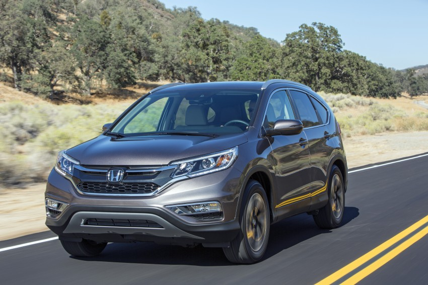 2015 Honda CR-V facelift – 2.4 i-VTEC with CVT for the US, and 1.6 i-DTEC with nine-speed auto for Europe Image #276632