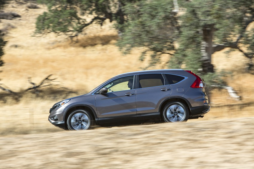 2015 Honda CR-V facelift – 2.4 i-VTEC with CVT for the US, and 1.6 i-DTEC with nine-speed auto for Europe Image #276635
