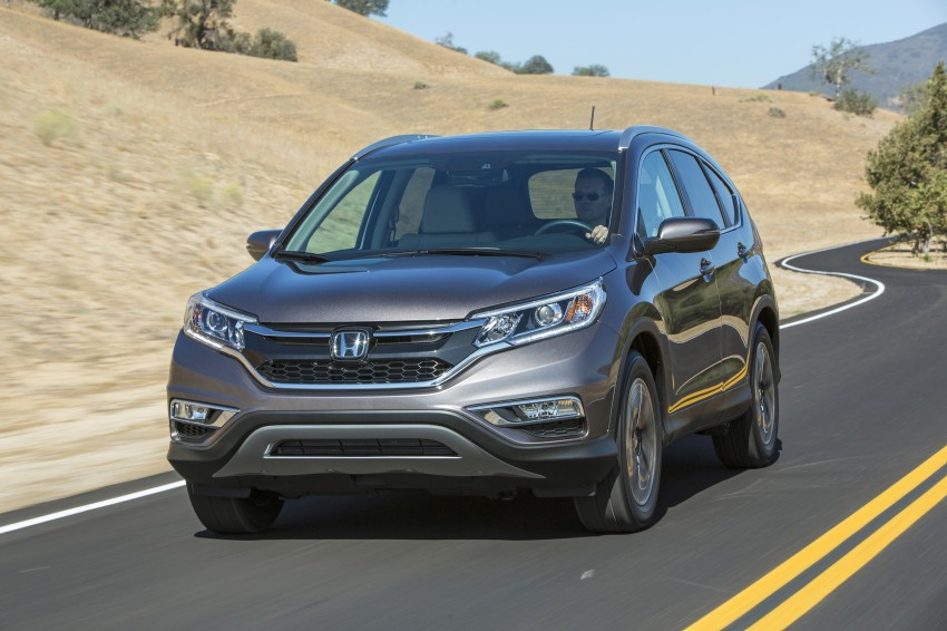 2015 Honda CR-V facelift – 2.4 i-VTEC with CVT for the US, and 1.6 i-DTEC with nine-speed auto for Europe Image #276628