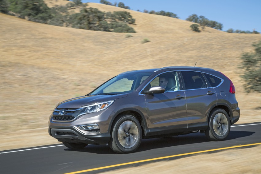 2015 Honda CR-V facelift – 2.4 i-VTEC with CVT for the US, and 1.6 i-DTEC with nine-speed auto for Europe Image #276624