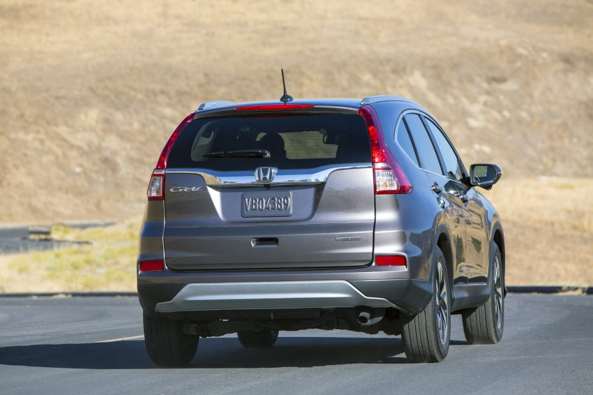 2015 Honda CR-V facelift – 2.4 i-VTEC with CVT for the US, and 1.6 i-DTEC with nine-speed auto for Europe Image #276627