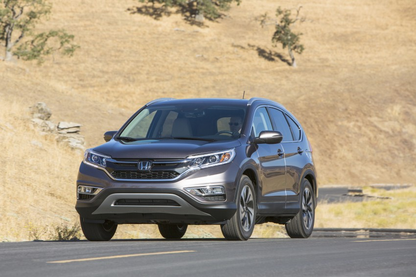 2015 Honda CR-V facelift – 2.4 i-VTEC with CVT for the US, and 1.6 i-DTEC with nine-speed auto for Europe Image #276626