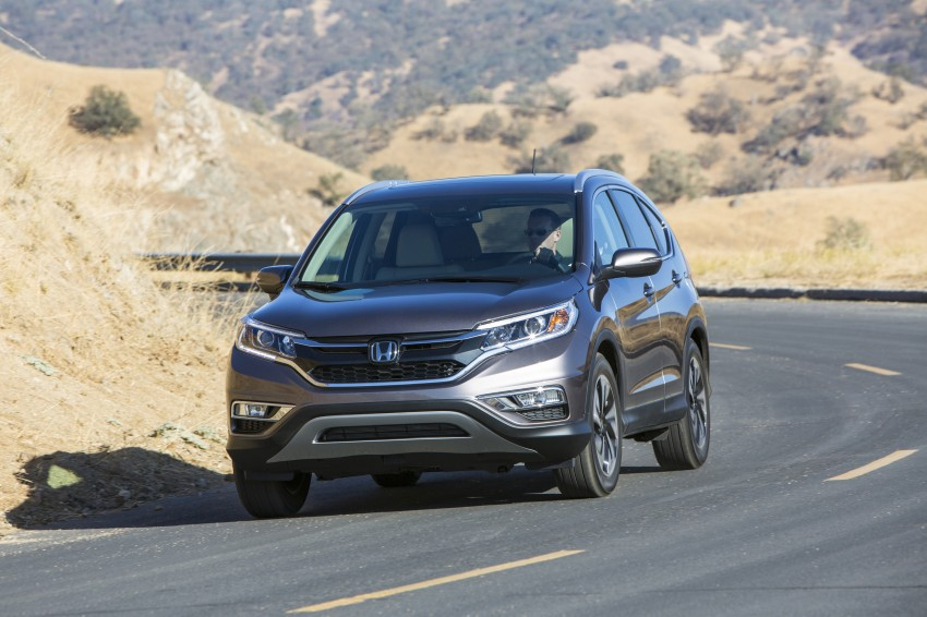 2015 Honda CR-V facelift – 2.4 i-VTEC with CVT for the US, and 1.6 i-DTEC with nine-speed auto for Europe Image #276625