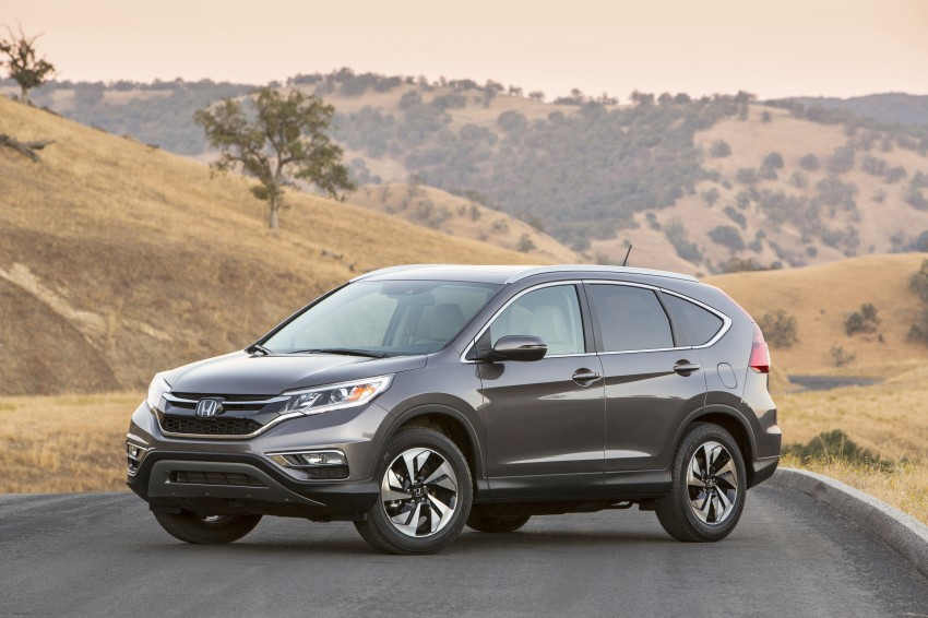 2015 Honda CR-V facelift – 2.4 i-VTEC with CVT for the US, and 1.6 i-DTEC with nine-speed auto for Europe Image #276622