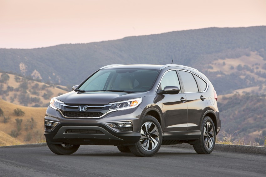 2015 Honda CR-V facelift – 2.4 i-VTEC with CVT for the US, and 1.6 i-DTEC with nine-speed auto for Europe Image #276618