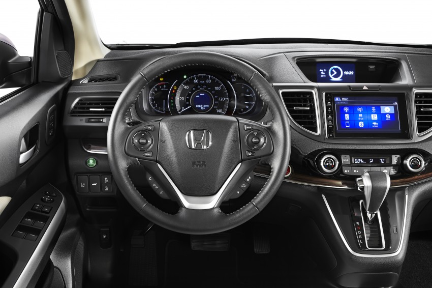2015 Honda CR-V facelift – 2.4 i-VTEC with CVT for the US, and 1.6 i-DTEC with nine-speed auto for Europe Image #276602