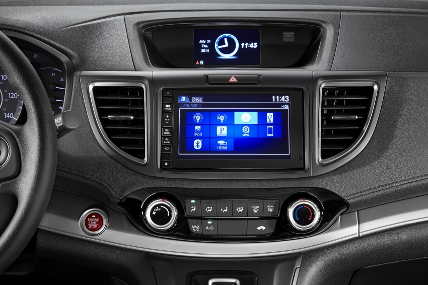 2015 Honda CR-V facelift – 2.4 i-VTEC with CVT for the US, and 1.6 i-DTEC with nine-speed auto for Europe Image #276606