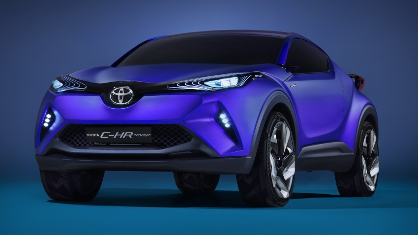 Toyota C-HR Concept: spirit of the RAV4, Prius and 86 Image #277411
