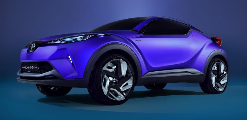 Toyota C-HR Concept: spirit of the RAV4, Prius and 86 Image #277405