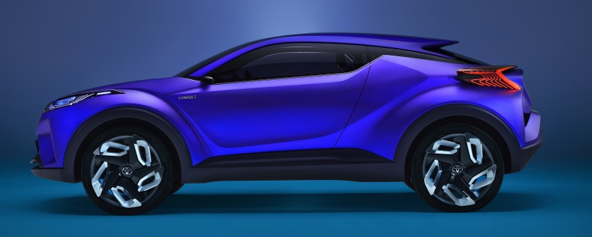 Toyota C-HR Concept: spirit of the RAV4, Prius and 86 Image #277410