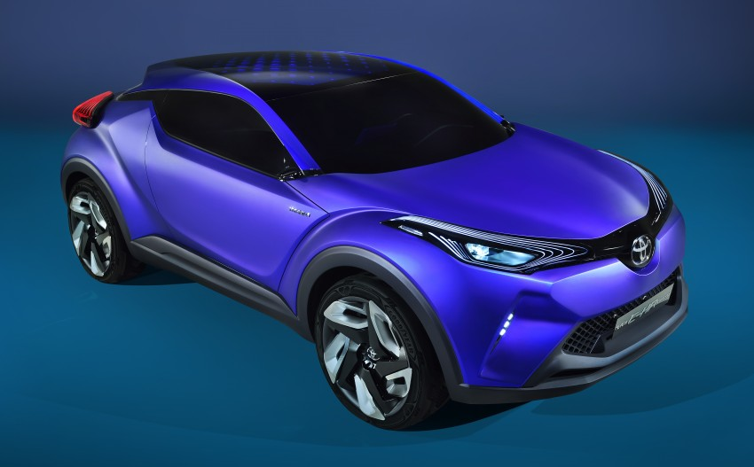Toyota C-HR Concept: spirit of the RAV4, Prius and 86 Image #277401