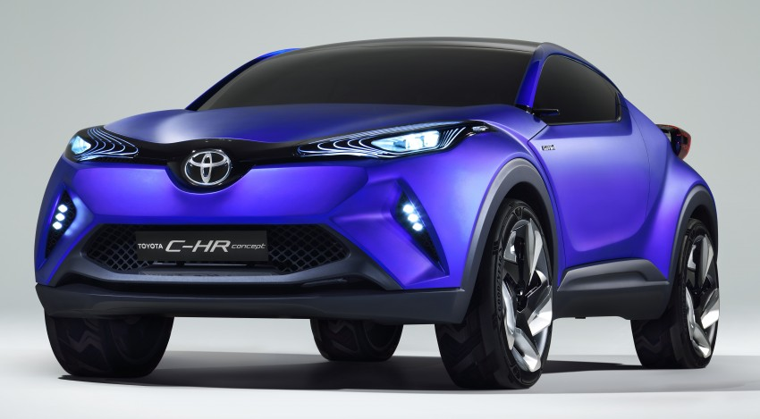 Toyota C-HR Concept: spirit of the RAV4, Prius and 86 Image #277412