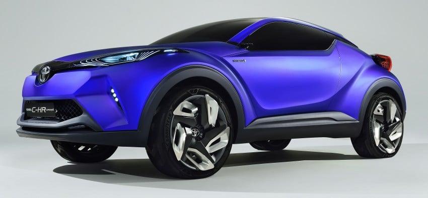 Toyota C-HR Concept: spirit of the RAV4, Prius and 86 Image #277414