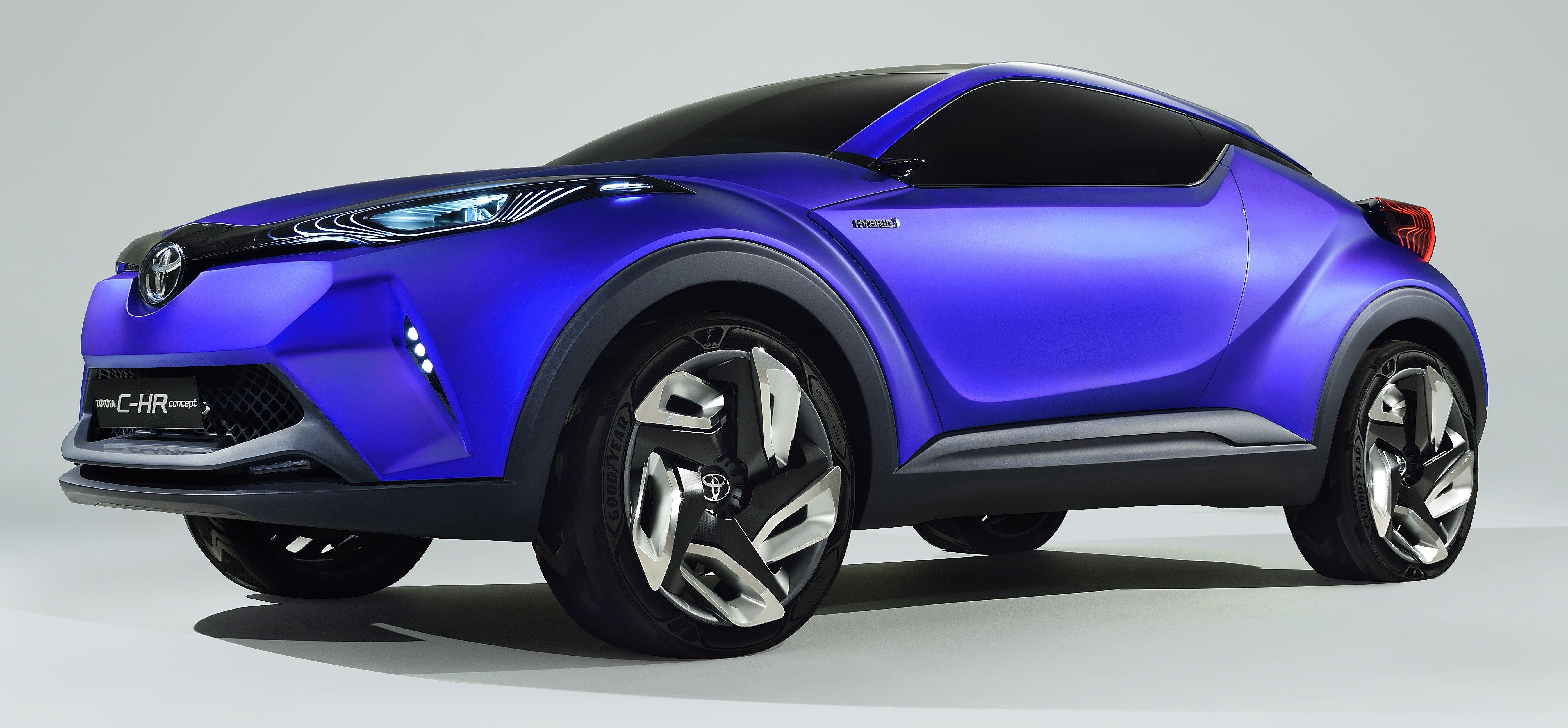 Toyota C-HR Concept: spirit of the RAV4, Prius and 86 Paul ...