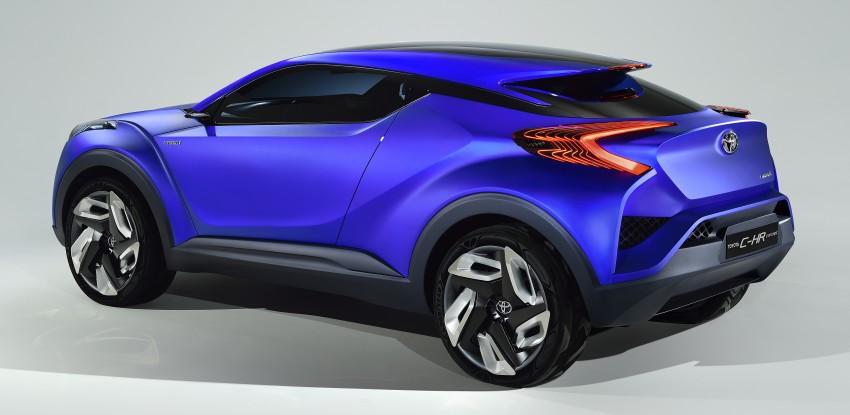Toyota C-HR Concept: spirit of the RAV4, Prius and 86 Image #277356