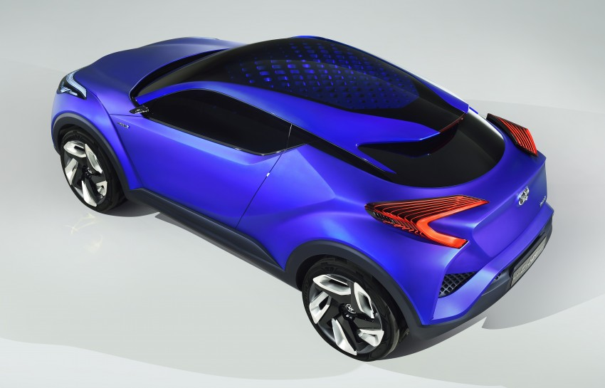 Toyota C-HR Concept: spirit of the RAV4, Prius and 86 Image #277357