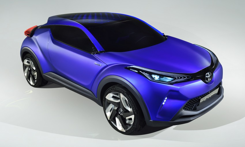 Toyota C-HR Concept: spirit of the RAV4, Prius and 86 Image #277358