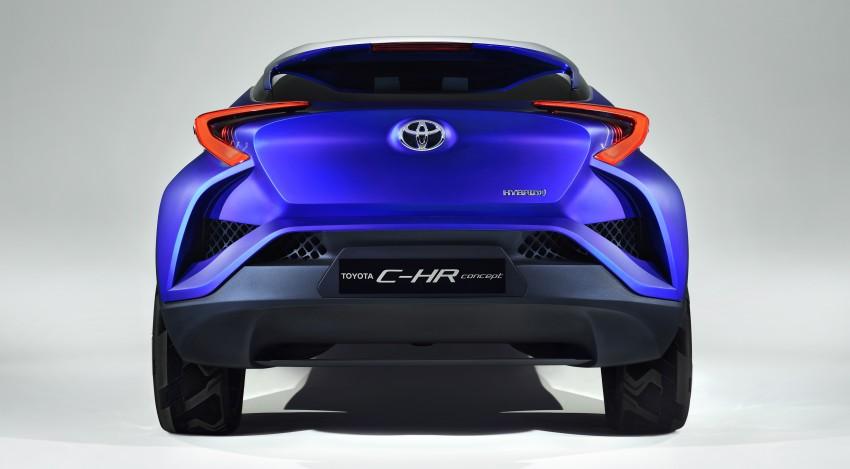 Toyota C-HR Concept: spirit of the RAV4, Prius and 86 Image #277364