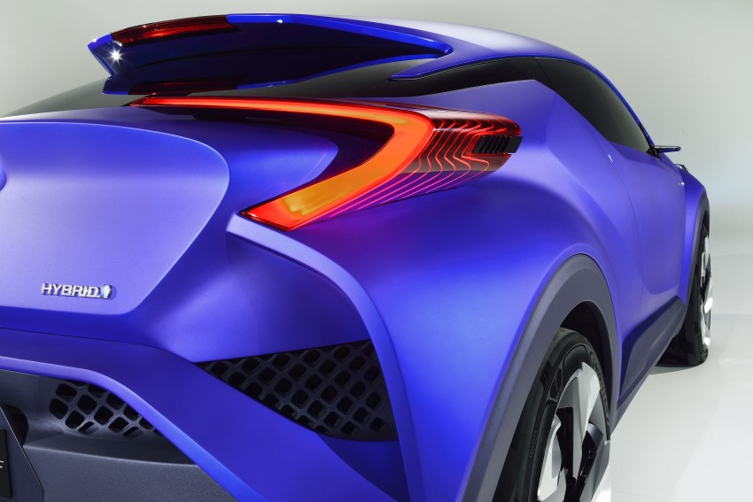 Toyota C-HR Concept: spirit of the RAV4, Prius and 86 Image #277390