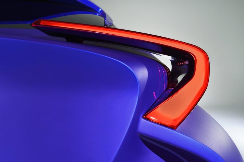 Toyota C-HR Concept: spirit of the RAV4, Prius and 86 Image #277387