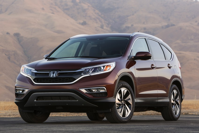 2015 Honda CR-V facelift – 2.4 i-VTEC with CVT for the US, and 1.6 i-DTEC with nine-speed auto for Europe Image #276600