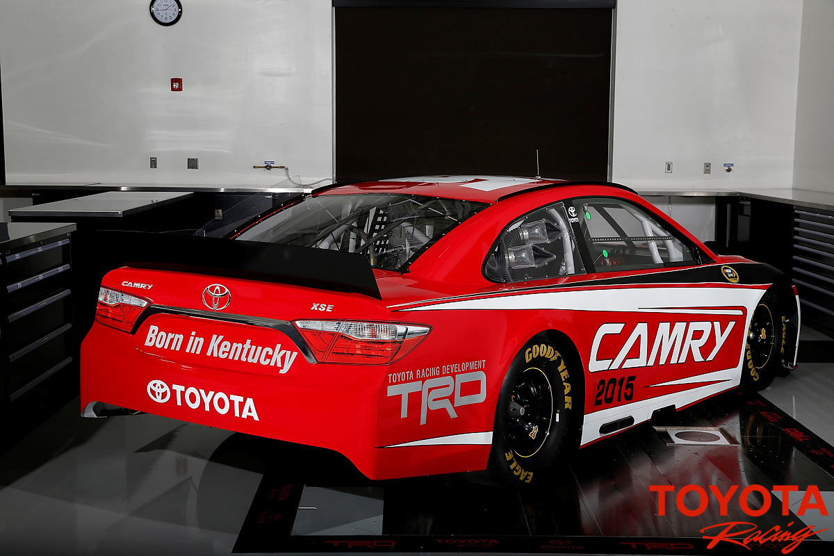 Back to Story: 2015 Toyota Camry NASCAR racer – on track next year