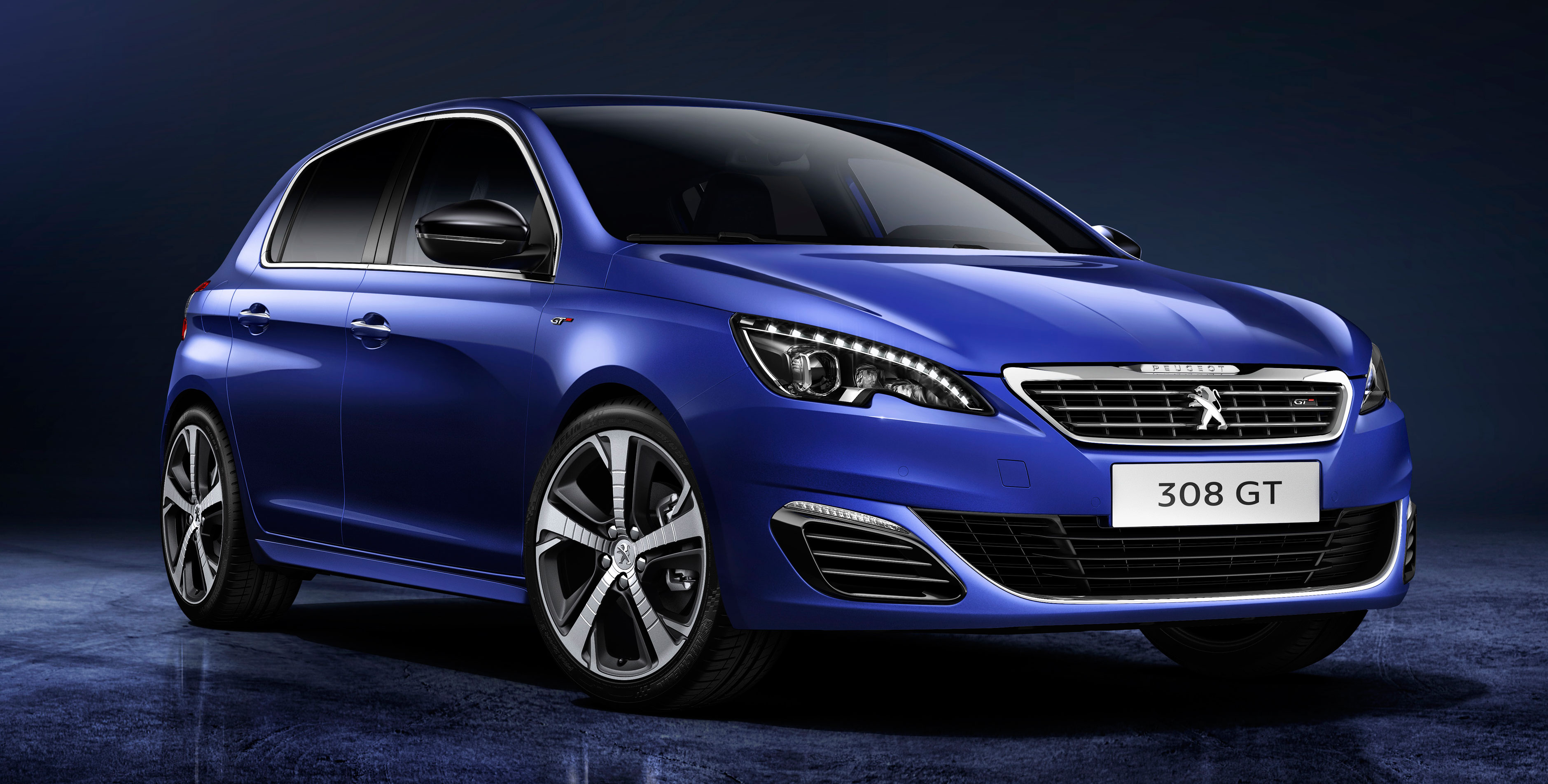 peugeot 308 gets new gt line and sportium trims. Black Bedroom Furniture Sets. Home Design Ideas