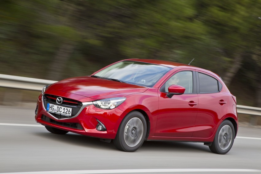 2015 Mazda 2 – European-market supermini detailed Image #285665