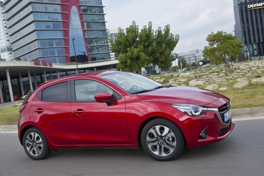 2015 Mazda 2 – European-market supermini detailed Image #285663