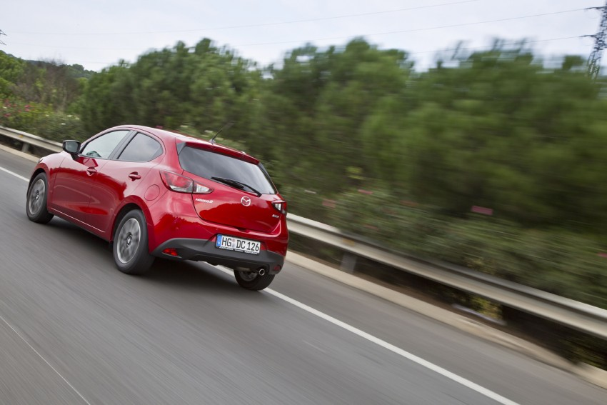 2015 Mazda 2 – European-market supermini detailed Image #285657