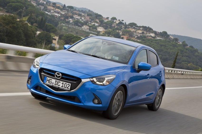 2015 Mazda 2 – European-market supermini detailed Image #285679