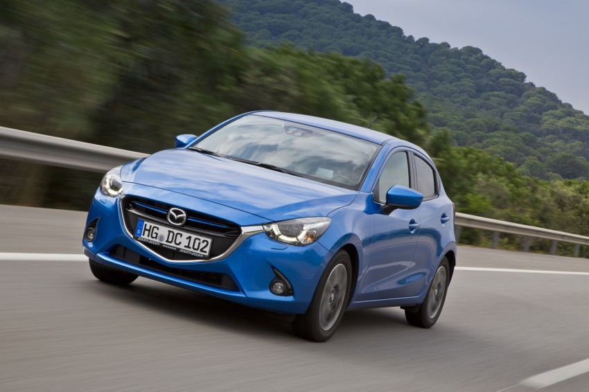 2015 Mazda 2 – European-market supermini detailed Image #285678