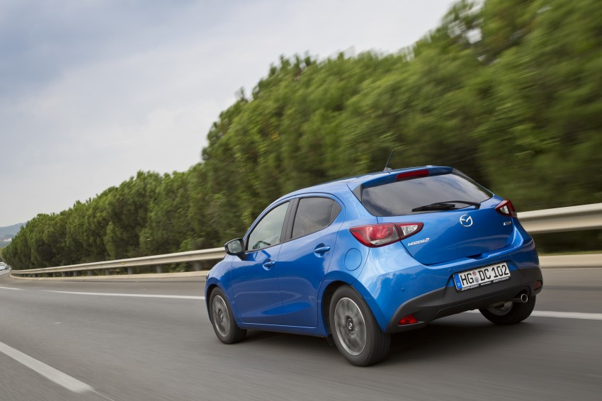 2015 Mazda 2 – European-market supermini detailed Image #285672
