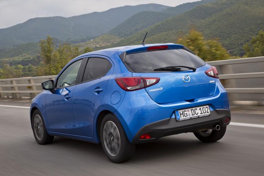 2015 Mazda 2 – European-market supermini detailed Image #285671