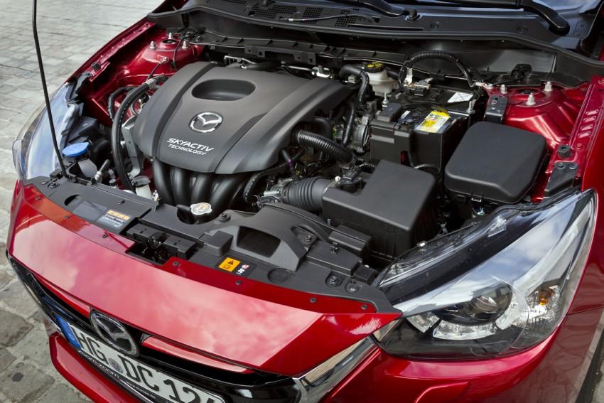 2015 Mazda 2 – European-market supermini detailed Image #285548