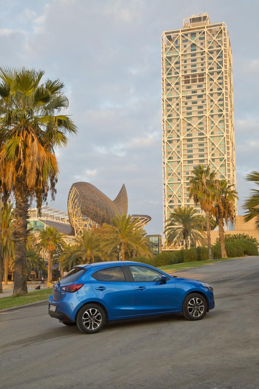 2015 Mazda 2 – European-market supermini detailed Image #285633