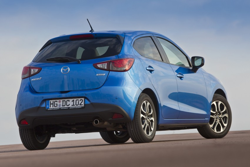2015 Mazda 2 – European-market supermini detailed Image #285629
