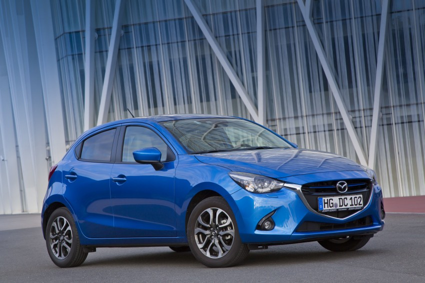 2015 Mazda 2 – European-market supermini detailed Image #285650
