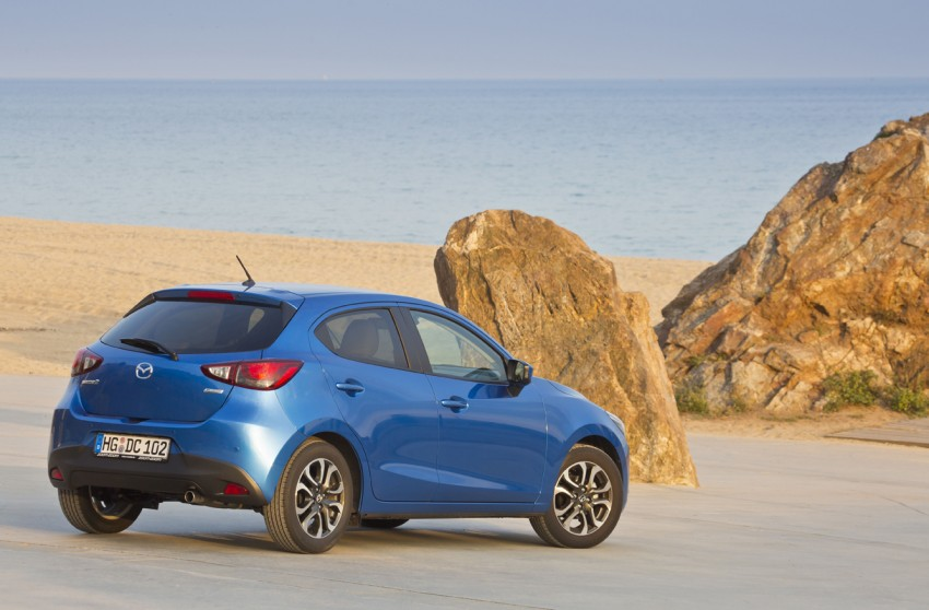 2015 Mazda 2 – European-market supermini detailed Image #285623