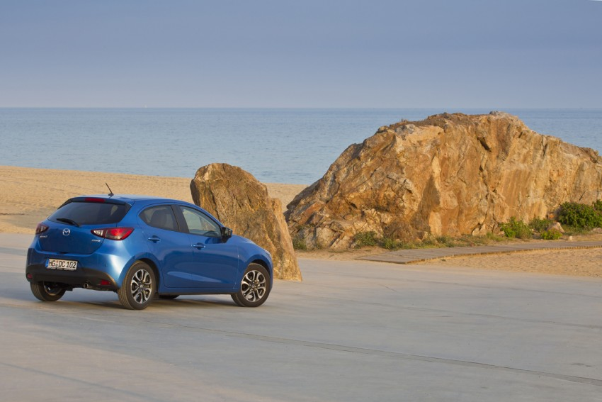 2015 Mazda 2 – European-market supermini detailed Image #285621