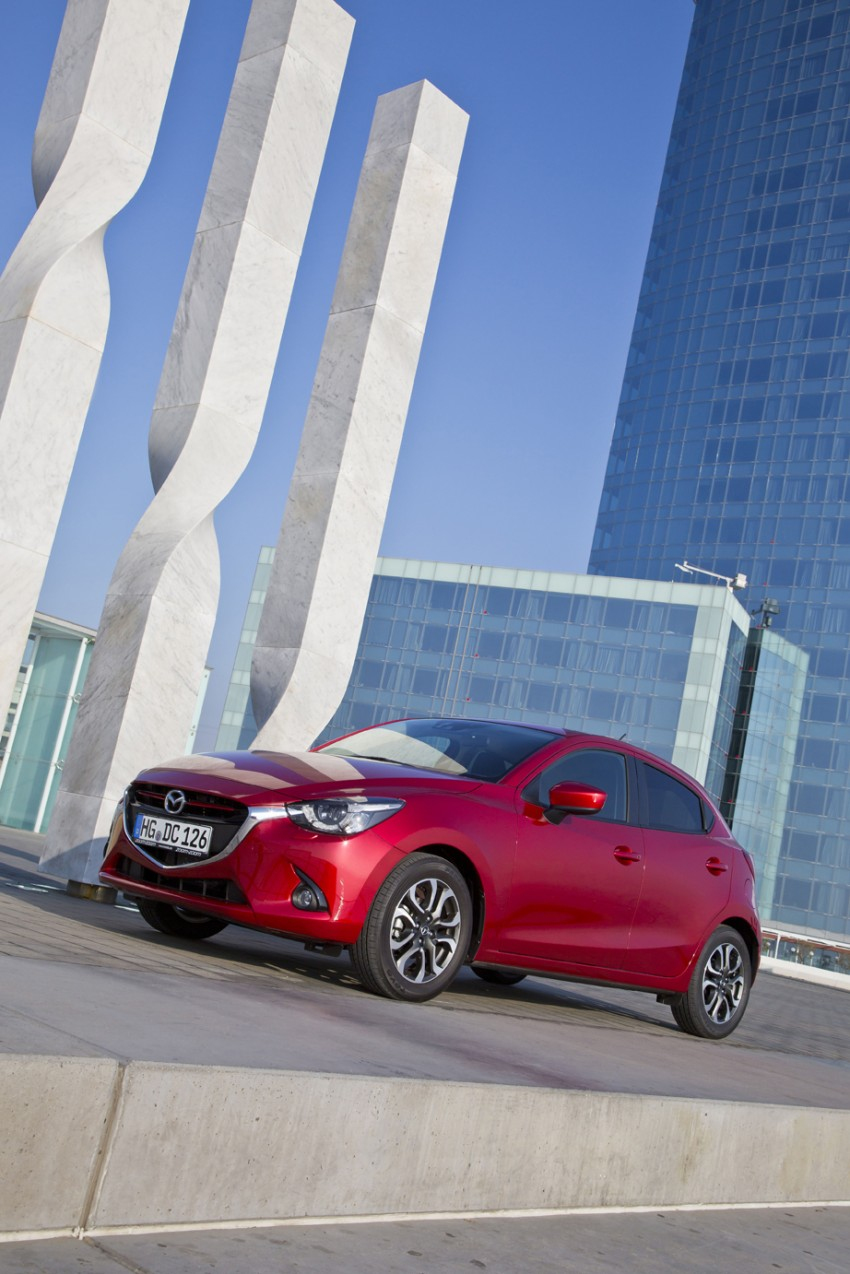 2015 Mazda 2 – European-market supermini detailed Image #285617