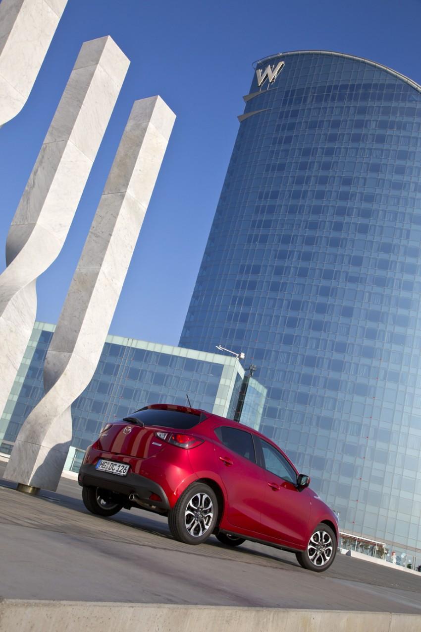 2015 Mazda 2 – European-market supermini detailed Image #285616