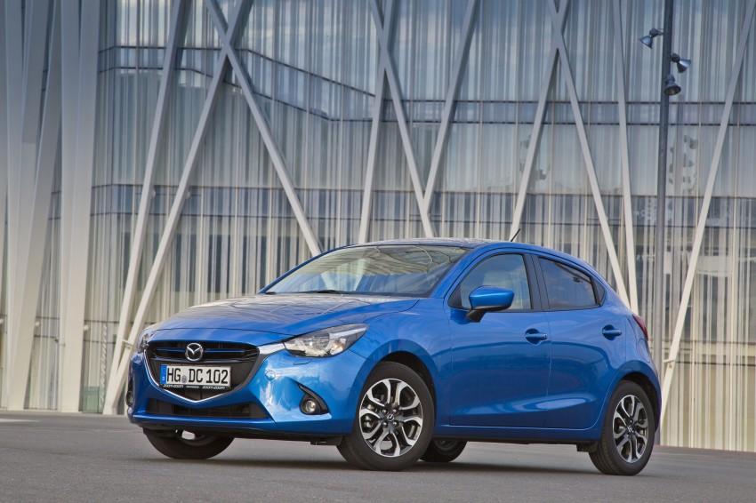2015 Mazda 2 – European-market supermini detailed Image #285649
