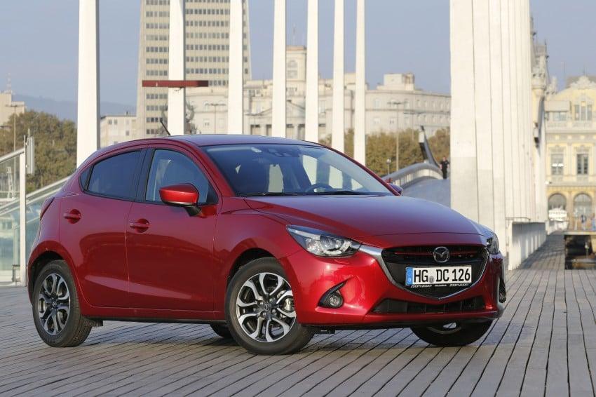 2015 Mazda 2 – European-market supermini detailed Image #285604