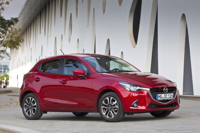 2015 Mazda 2 – European-market supermini detailed Image #285611