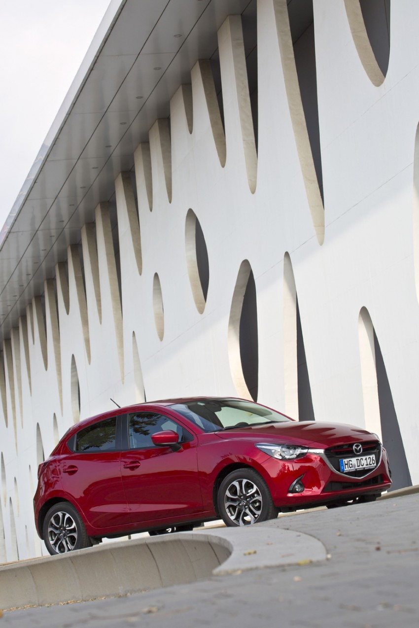 2015 Mazda 2 – European-market supermini detailed Image #285612