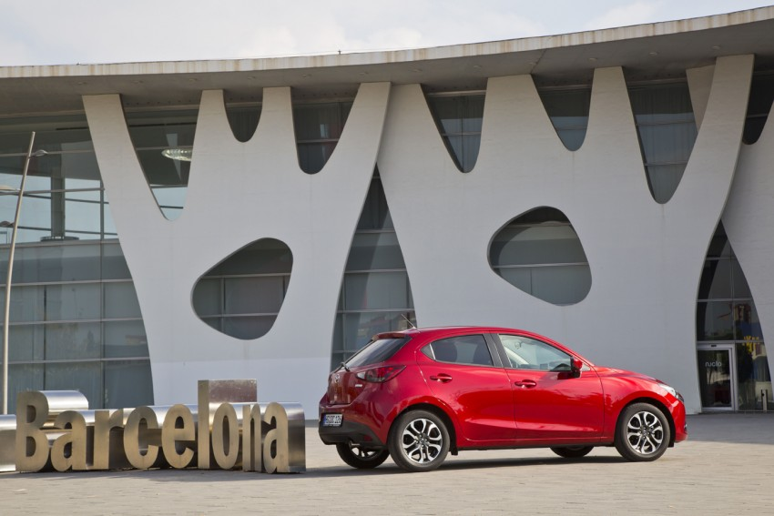 2015 Mazda 2 – European-market supermini detailed Image #285600