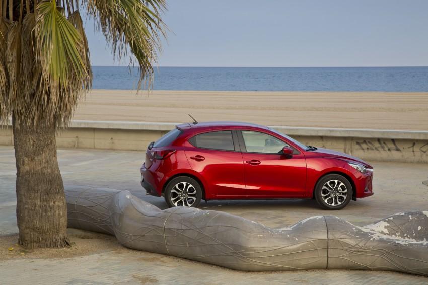 2015 Mazda 2 – European-market supermini detailed Image #285590