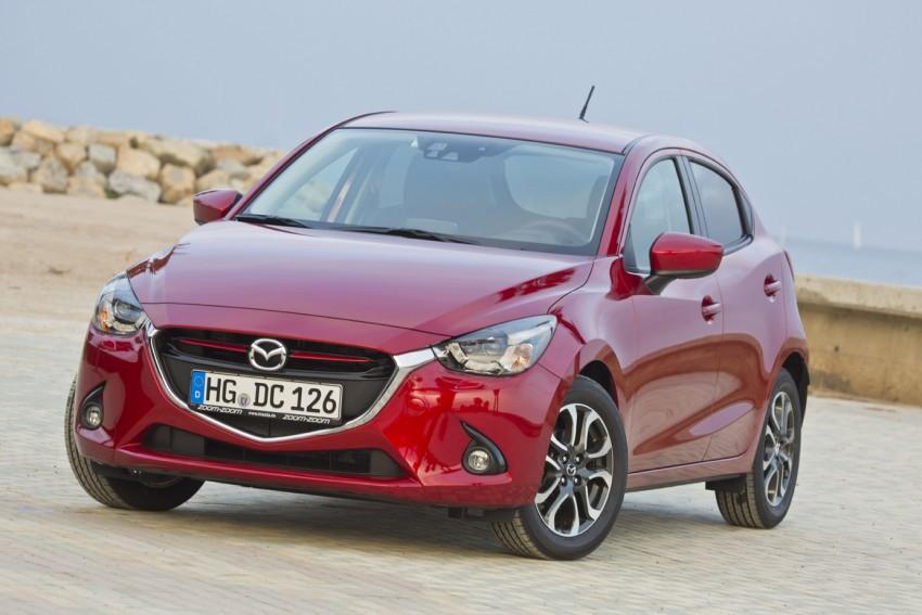 2015 Mazda 2 – European-market supermini detailed Image #285593